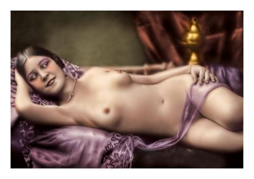 Vintage Nude III by carlzon