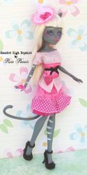 Meowlody - Monster High Repaint by PixiePaints