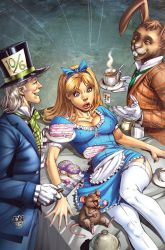 Mad Hatter Cover by DNA-1