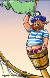 Carlyle the pirate by Spools