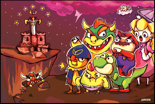 MARIO RPG by ohmonah