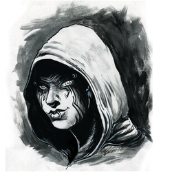 Star Wars Ink Practice by cheeny