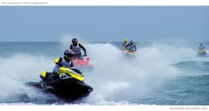 Jet Ski Racing III by Kevrekidis