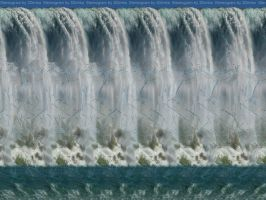Waterfall Stereogram by 3Dimka