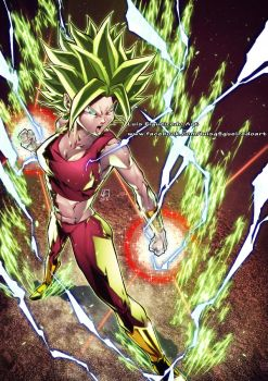 KEFLA Super Saiyan 2 colors by marvelmania