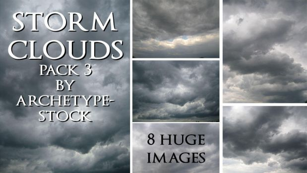Storm Clouds Pack 3 by archetype-stock