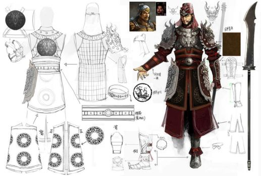 Warrior Clothing Design by Concept-Art-House