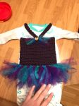 Baby tutu dress by asexualgoddess