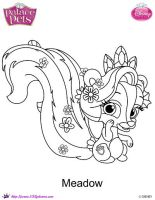 Meadow coloring Page SKGaleana by SKGaleana