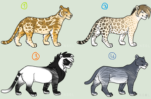 Big Cat Adopts ~ CLOSED by kimerii