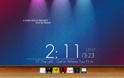 SimpleDOCK for Rainmeter by KimboPrice