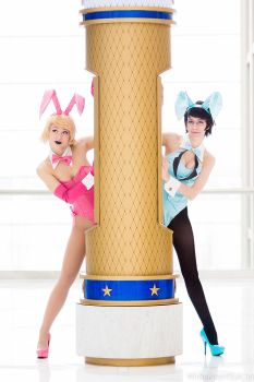 Cotton Candy Bunnys - Homestuck by Mostflogged