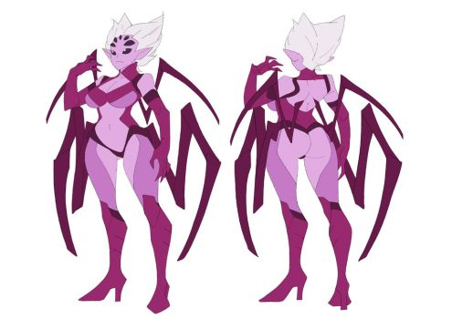 Spider Villianess Alt Outfit Reference by HEARTZMD