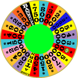 1989 Round 2 Nighttime Wheel with Free Spin by mrentertainment