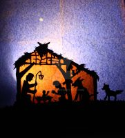 Away in a manger by 1337pea