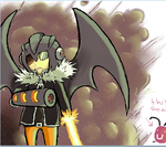 Masked Man iScribble by The-EverLasting-Ash