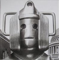 Cyberman Invasion - St Paul's Cathedral by Marc137