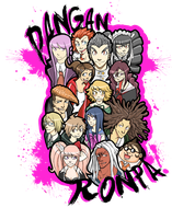 Dangan Ronpa by EatinIce