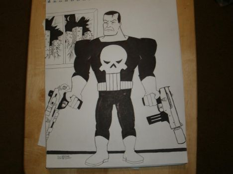 Punisher Commission by Brady-Kj