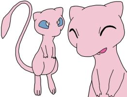Mew 2nd Art by GEORDINHO
