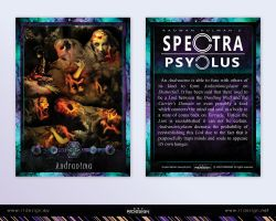 Spectra Psyclus - cards -18-Andranima by R1Design
