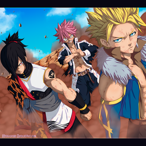 Fairy Tail 405 - The children of dragons by Nagadih