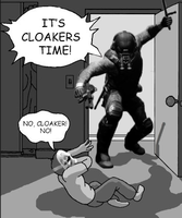 IT S CLOAKERS TIME! (Payday 2) by Cube-with-a-heart