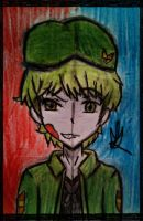 Happy tree friends - Flippy by Ziva-Daiban