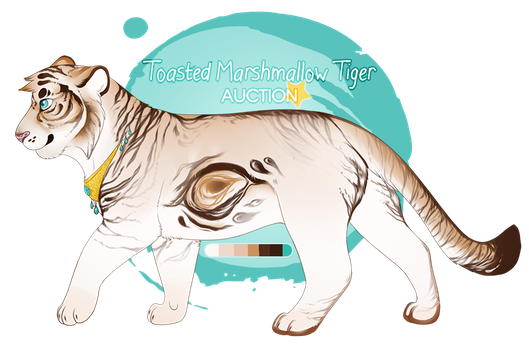 Toasted Marshmallow Tiger AUCTION - CLOSED by romances
