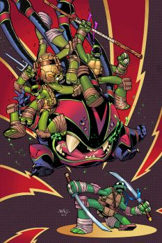 TMNT #21 Cover by ComicFace