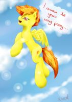 wing pony by Farcuf