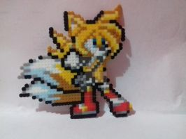 Tails  TSR - Hama beads by SilverAlchemist09