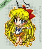 [OLD] Super Sailor Venus Keychains by EmeraldAngelStudio