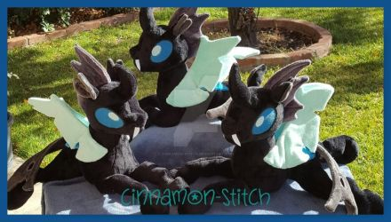 Mlp Plushie Thorax Changeling Commissions by CINNAMON-STITCH