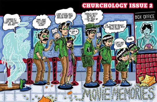 Churchology Issue 2: Cover by ehudsbloodysword