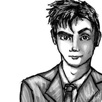 Chrisily 12 3 Sketchy Ten By Iconchrisily 14 7 FREE 10th Doctor Lineart