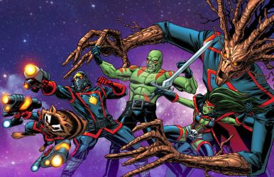 Guardians of the Galaxy by bennyfuentes