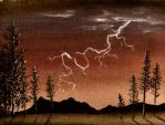 Lightning Strike by Temporalvisions