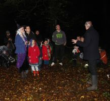 Spooky Halloween walk, Hainault Forest, 31/10/2013 by LouHartphotography