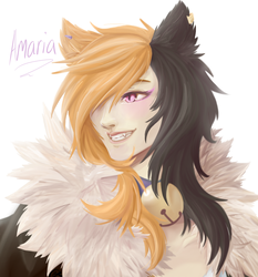 Amaria Painting by Mearii-chi