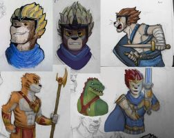 Chima Artdump by SteamMouse