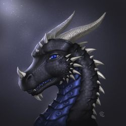 Vuth Portrait Commission by StriderDen
