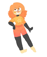 Gemsona- Yellow Topaz/Citrine by Lord-Morgaphus