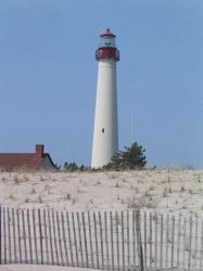 Cape May Light 1 by Victorina