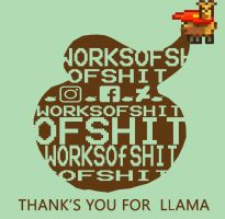 thx for Llama by worksofshit