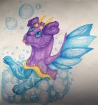 Bubbles! by DragonFinch