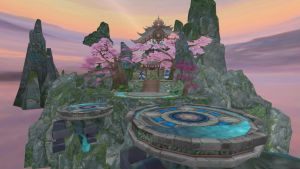 China Game Stage: Sakura and sky DL by daucongluyen