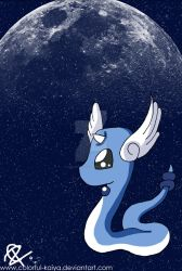 Night Sky Dragonair by Colorful-Kaiya