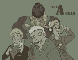 A-Team by betsyillustration