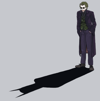 Batman: Me and My Shadow by GollyAbsolutely